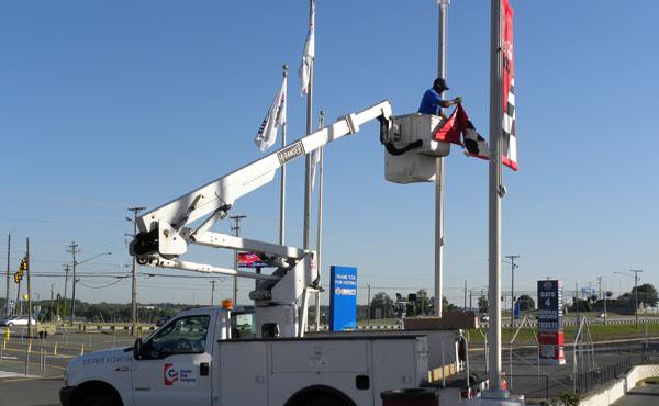 Flag Flagpole Amp Banner Installation Conder Flag Company